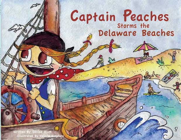 Captain Peaches Storms the Delaware Beaches